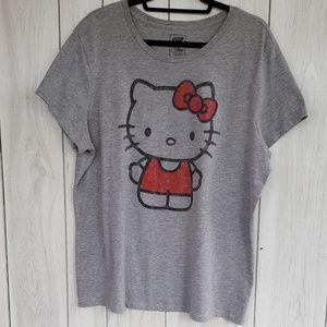 Old Navy Hello Kitty tshirt  size XXL